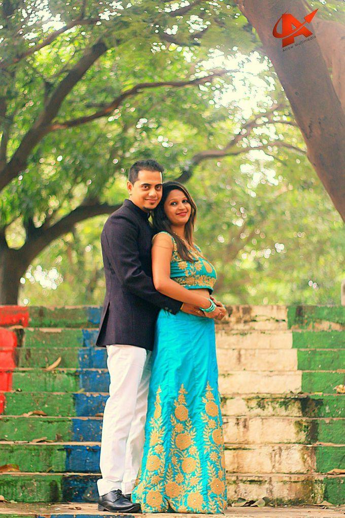 Maharashtrian Wedding Candid by Arrow Multimedia - 019