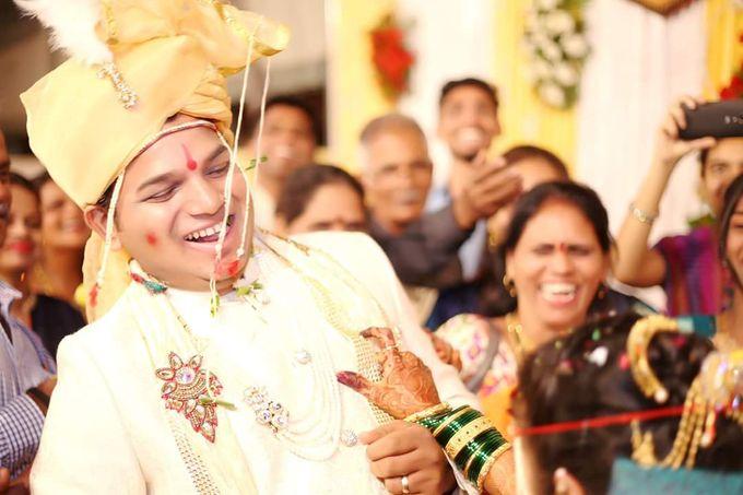 Maharashtrian Wedding Candid by Arrow Multimedia - 003