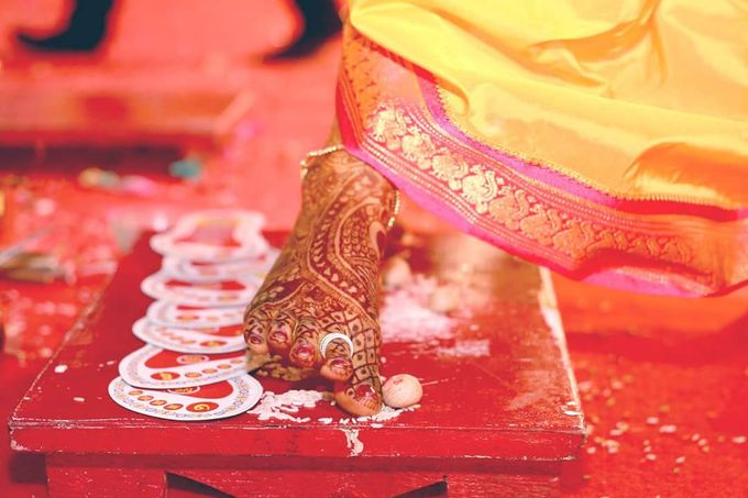 Maharashtrian Wedding Candid by Arrow Multimedia - 002