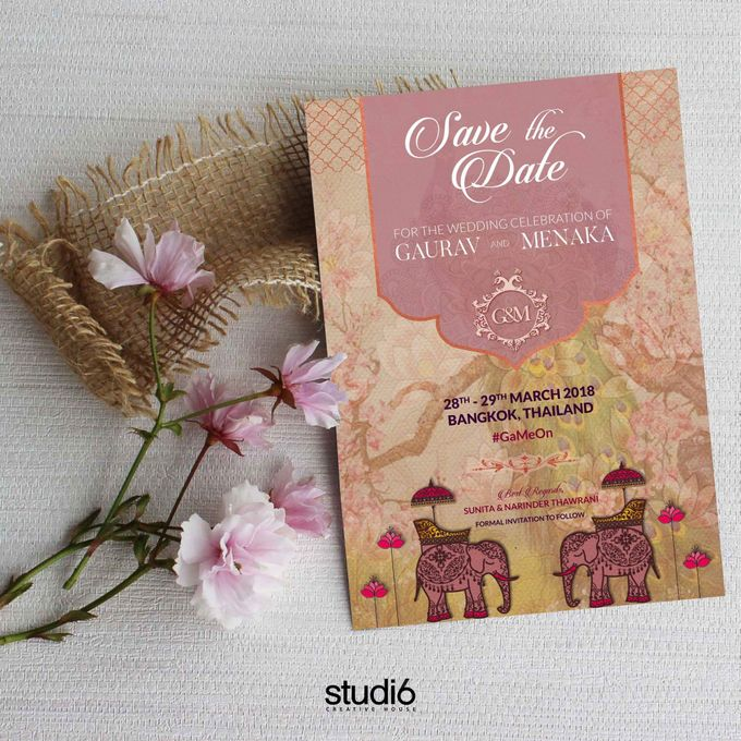 Save The Date by Studio6 - Creative House - 001