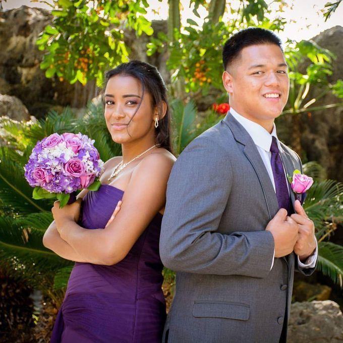 Purple Wedding by My Beauty By Glo - 001