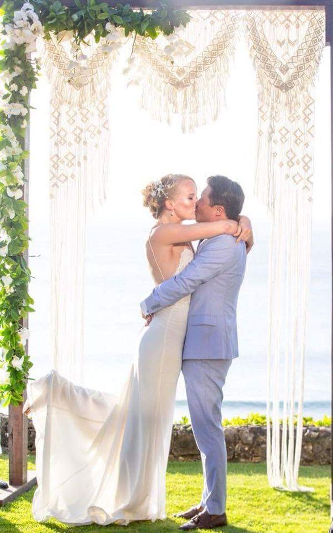 Congrats Kelvin And Maria Wedding Day by Amber Liu Make up and Hair  - 005
