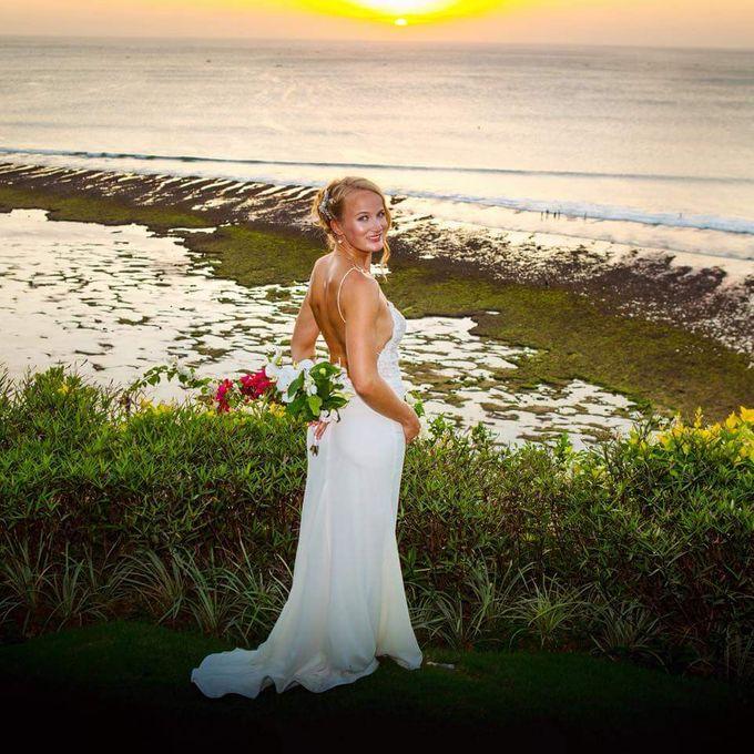 Congrats Kelvin And Maria Wedding Day by Amber Liu Make up and Hair  - 016