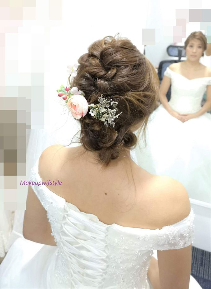 Bridal Gown And Makeup Hair By Makeupwifstyle Bridestory