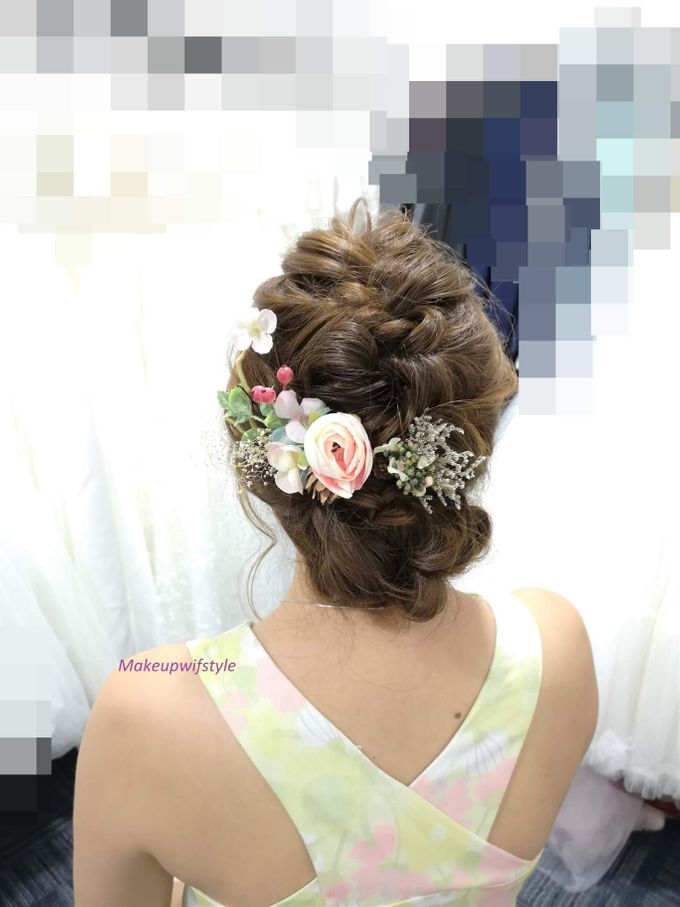 Bridal GOWN And MAKEUP, HAIR by Makeupwifstyle - 002