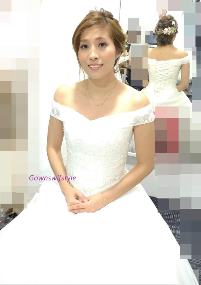 Bridal GOWN And MAKEUP, HAIR by Makeupwifstyle - 003