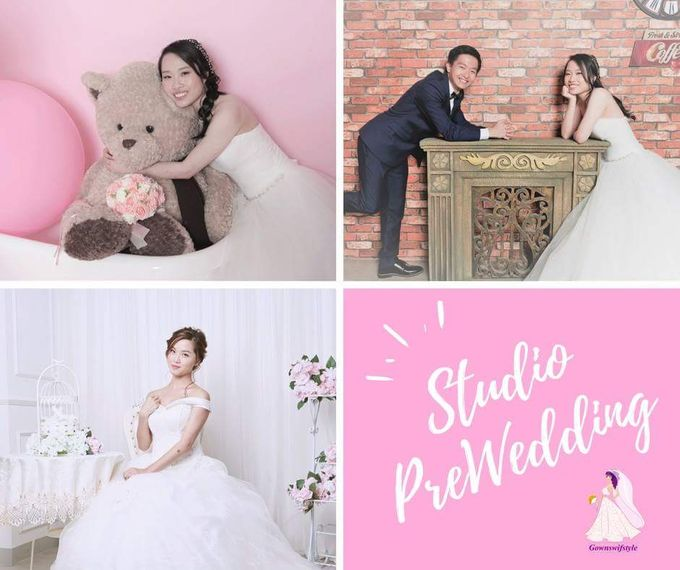 Studio Pre-wedding Photography @$1xxx Only by Makeupwifstyle - 001