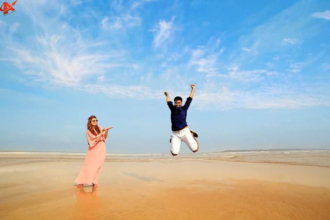 Henal x Priyank Pre Weddings Shoot by Arrow Multimedia - 001