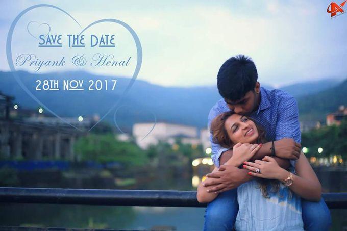 Henal x Priyank Pre Weddings Shoot by Arrow Multimedia - 005