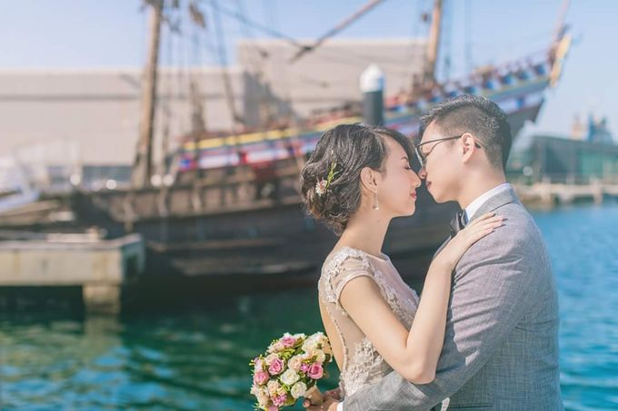 Perth Destination Pre-Wedding Photoshoot by Angel Chua Lay Keng Makeup and Hair - 010