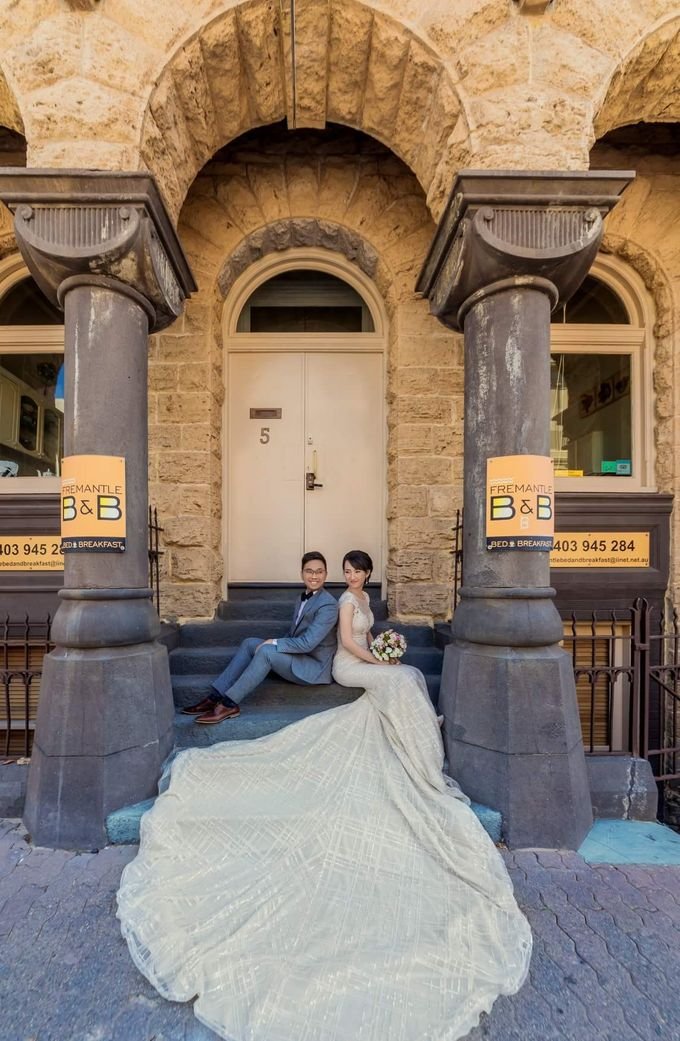Perth Destination Pre-Wedding Photoshoot by Angel Chua Lay Keng Makeup and Hair - 015