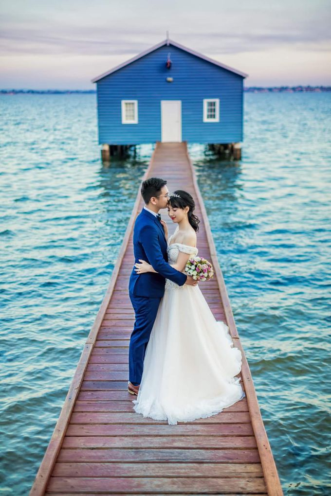 Perth Destination Pre-Wedding Photoshoot by Angel Chua Lay Keng Makeup and Hair - 023