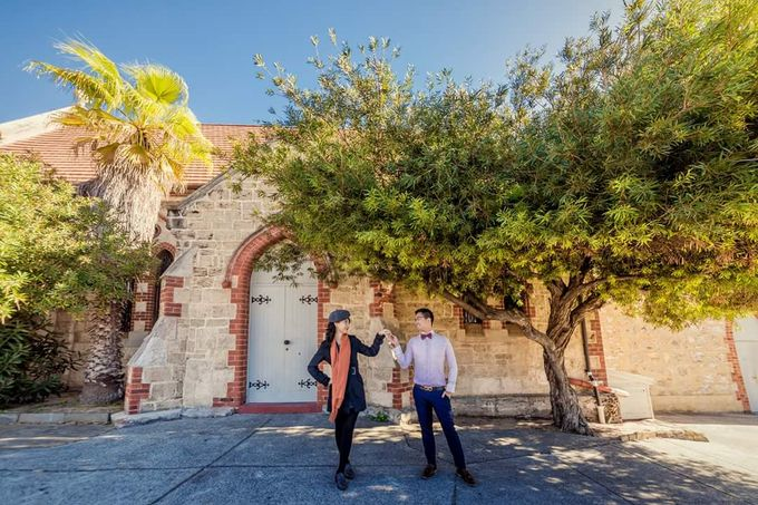 Perth Destination Pre-Wedding Photoshoot by Angel Chua Lay Keng Makeup and Hair - 013