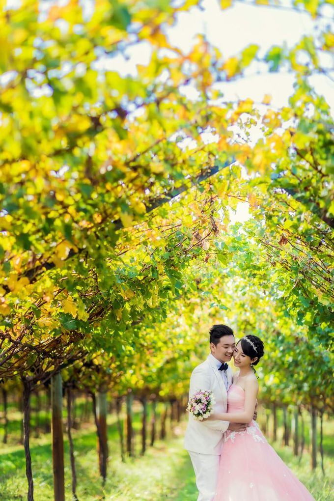 Perth Destination Pre-Wedding Photoshoot by Angel Chua Lay Keng Makeup and Hair - 018