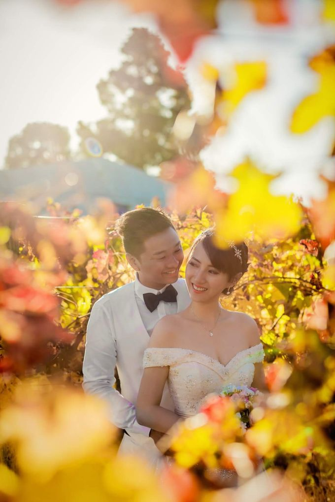 Perth Destination Pre-Wedding Photoshoot by Angel Chua Lay Keng Makeup and Hair - 026