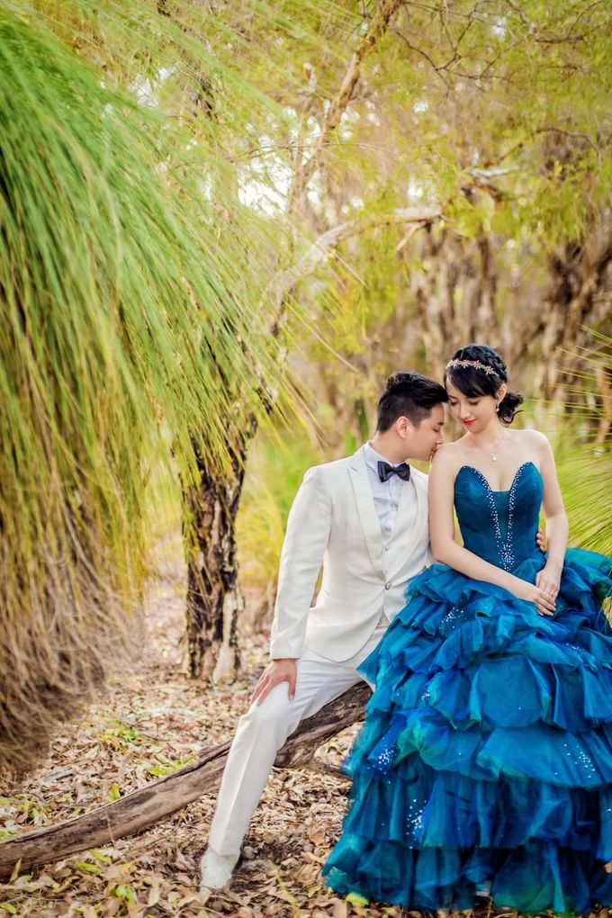 Perth Destination Pre-Wedding Photoshoot by Angel Chua Lay Keng Makeup and Hair - 017
