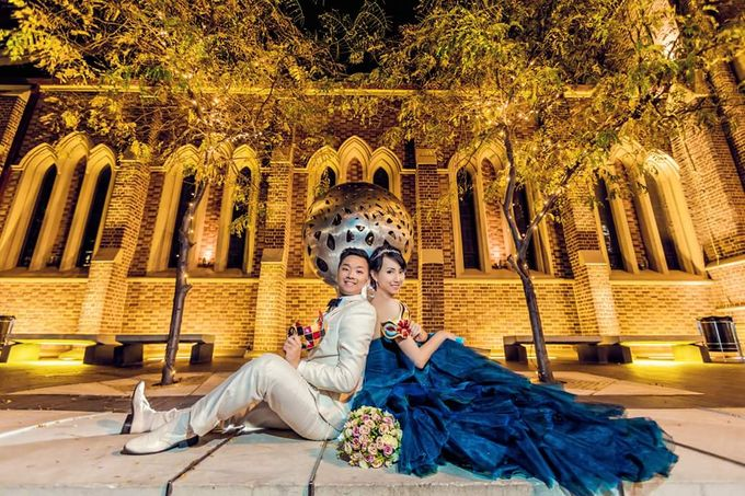 Perth Destination Pre-Wedding Photoshoot by Angel Chua Lay Keng Makeup and Hair - 025