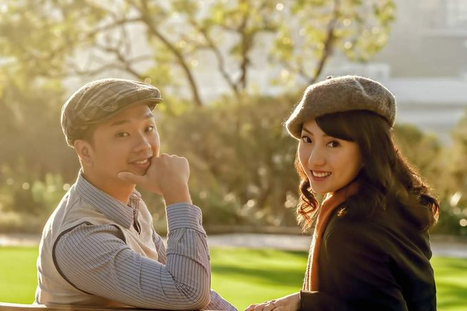 Perth Destination Pre-Wedding Photoshoot by Angel Chua Lay Keng Makeup and Hair - 024