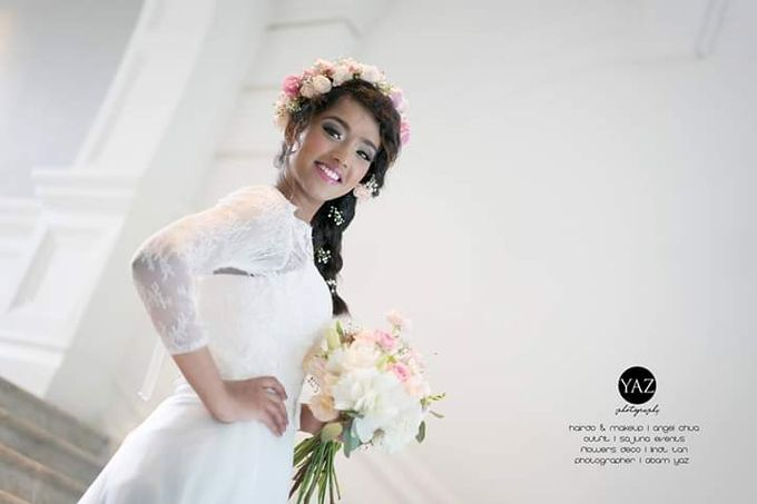 Add To Board Indian Elegant Bridal Photoshoot by Angel Chua Lay Keng Makeup and Hair - 001