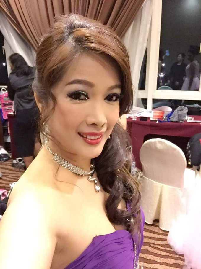 Evening Bridal Look By Angel Chua Lay Keng Makeup And Hair