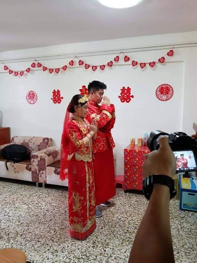 Wedding KUA Traditional Chinese by Angel Chua Lay Keng Makeup and Hair - 003