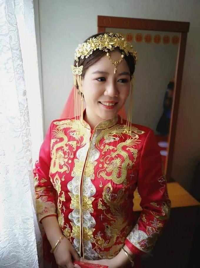 Wedding KUA Traditional Chinese by Angel Chua Lay Keng Makeup and Hair - 004