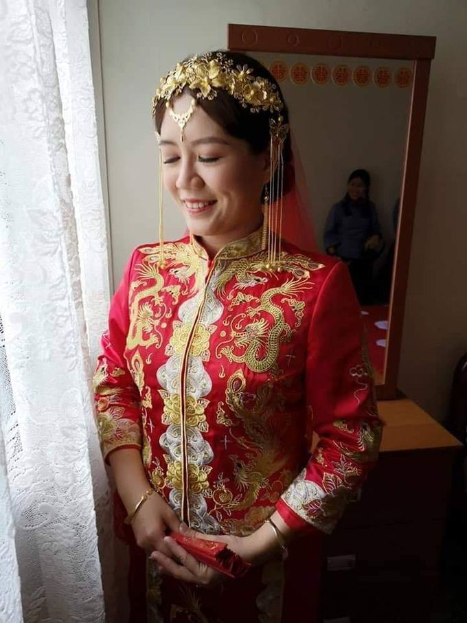 Wedding KUA Traditional Chinese by Angel Chua Lay Keng Makeup and Hair - 005