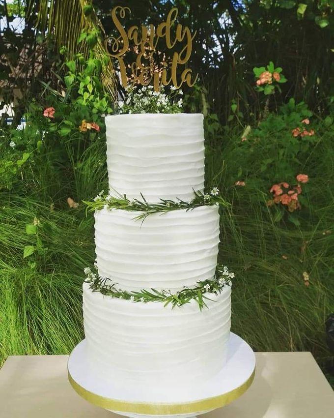 The Wedding Cake Of Sandy & Verita by Moia Cake - 002