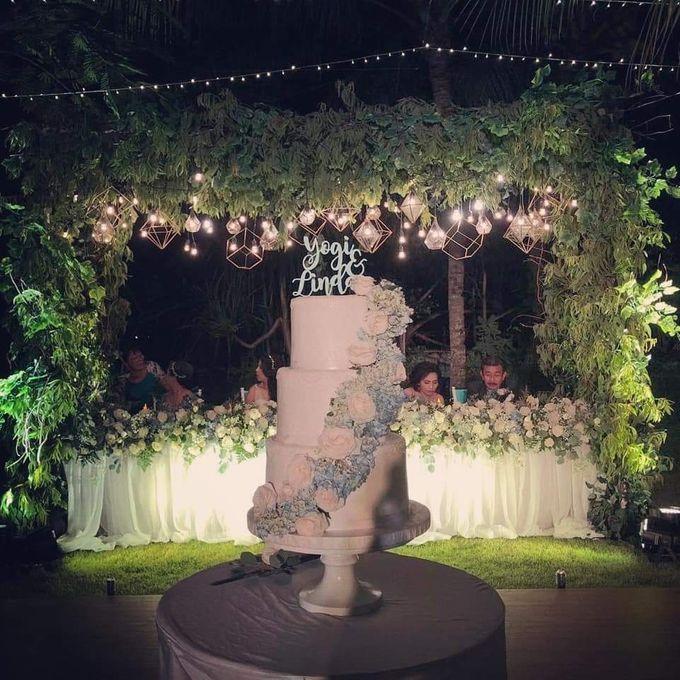 The Wedding Cake Of Yogi & Linda by Moia Cake - 001