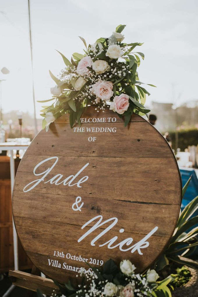 The Wedding Of Jade & Nick by Moia Cake - 008