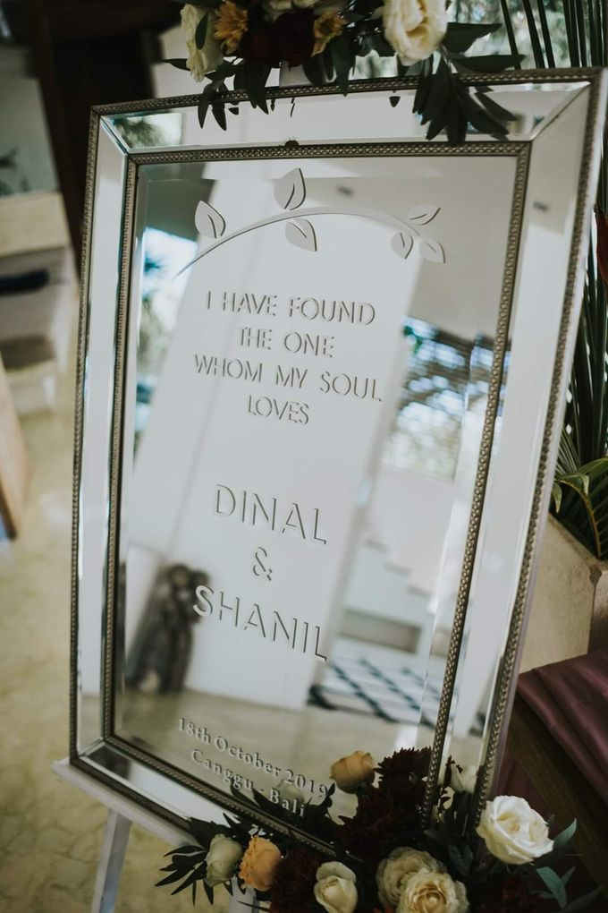 The Wedding Cake Of Dinal & Shanil by Moia Cake - 002