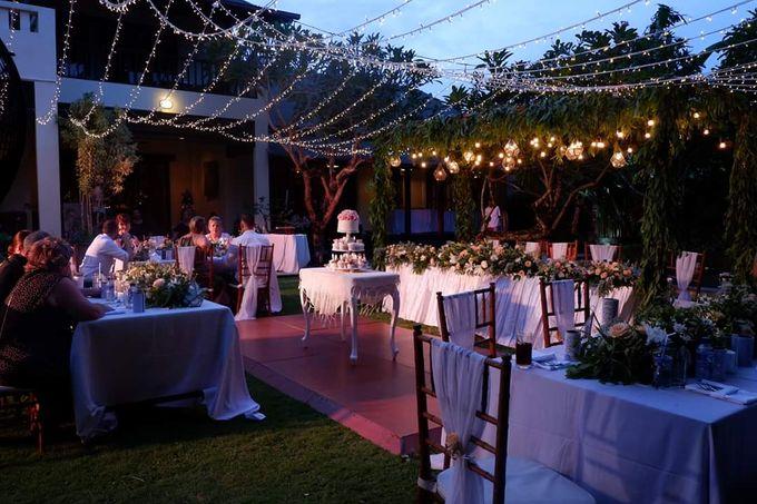 The Wedding Cake Of Kirk & Samantha by Florenca Bali Florist - 004