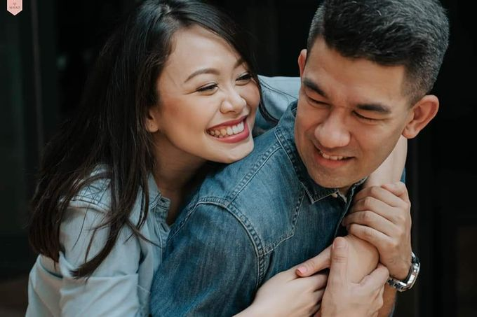 Monchu And Tricia Engagement Shoot by Bride Idea - 008