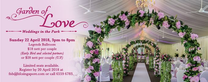Garden of Love - Weddings in the Park by Hotel Fort Canning - 001