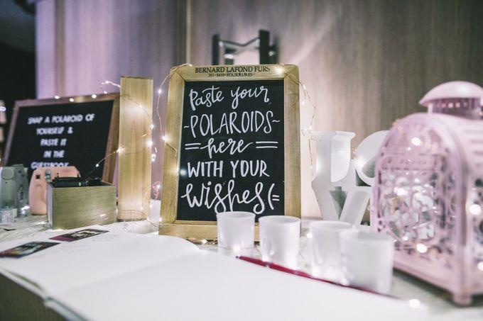 Wedding of Huang & Imelda by Rosette Designs & Co - 004