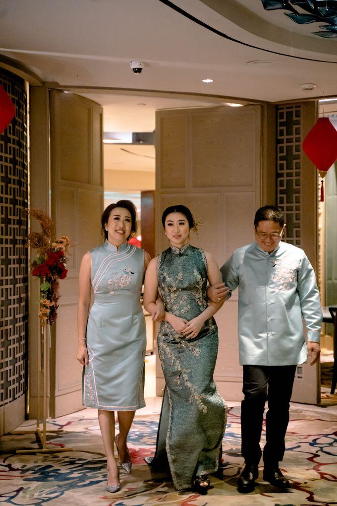 The Sangjit of Kenvry & Chrestella by Mandarin Oriental, Jakarta - 009