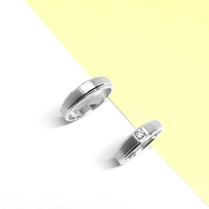 Diamond Wedding Ring eps 3 by Felicity Jewellery - 011