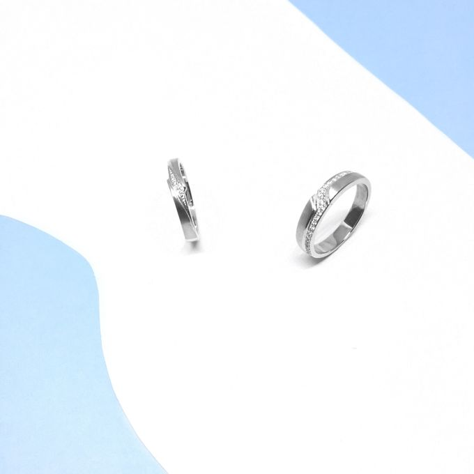 Diamond Wedding Ring eps 2 by Felicity Jewellery - 022