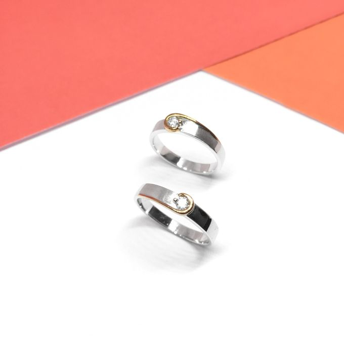 Diamond Wedding Ring eps 2 by Felicity Jewellery - 016