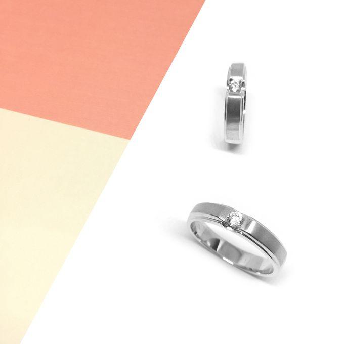 Diamond Wedding Ring eps 3 by Felicity Jewellery - 003