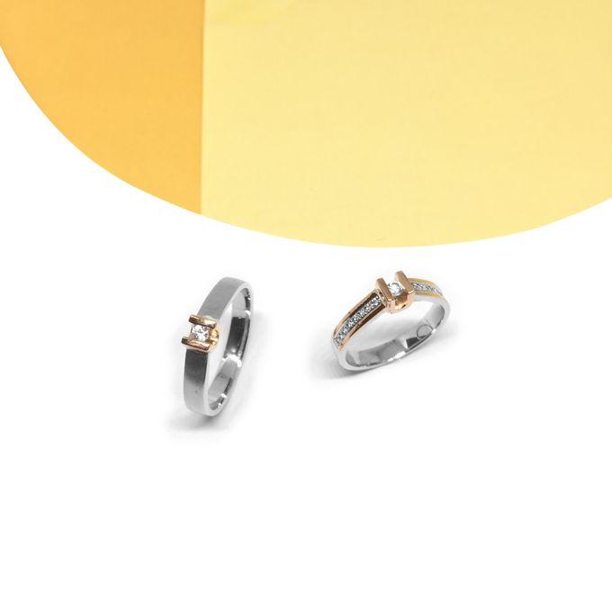 Diamond Wedding Ring eps 3 by Felicity Jewellery - 010