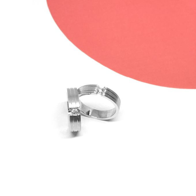 Diamond Wedding Ring eps 3 by Felicity Jewellery - 019