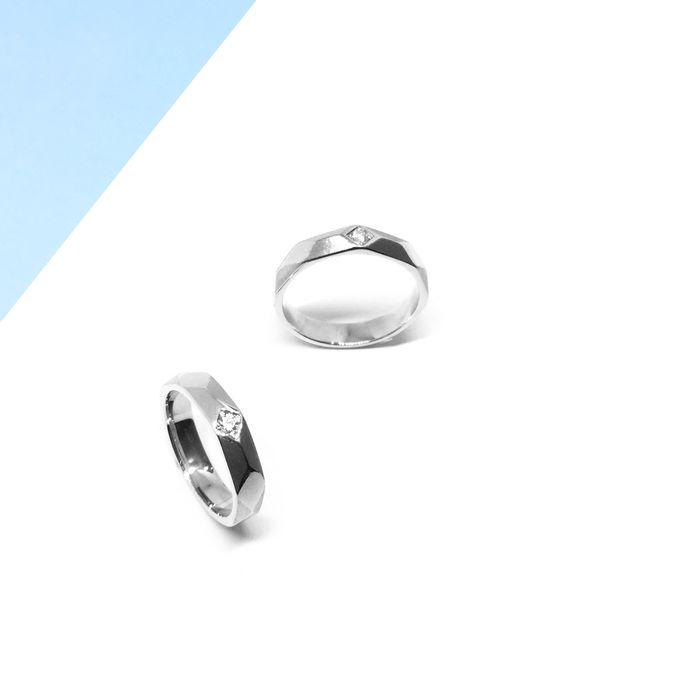 Diamond Wedding Ring eps 3 by Felicity Jewellery - 020
