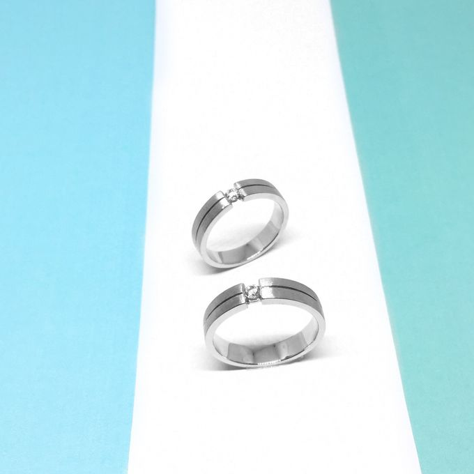 Diamond Wedding Ring eps 3 by Felicity Jewellery - 022
