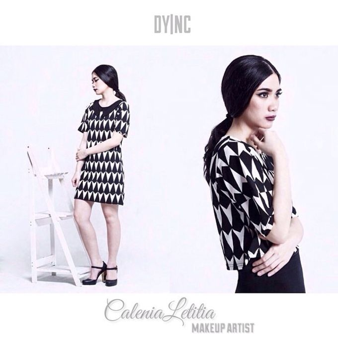Makeup for Clothing Photoshoot by Calenia Letitia Makeup Artist - 001