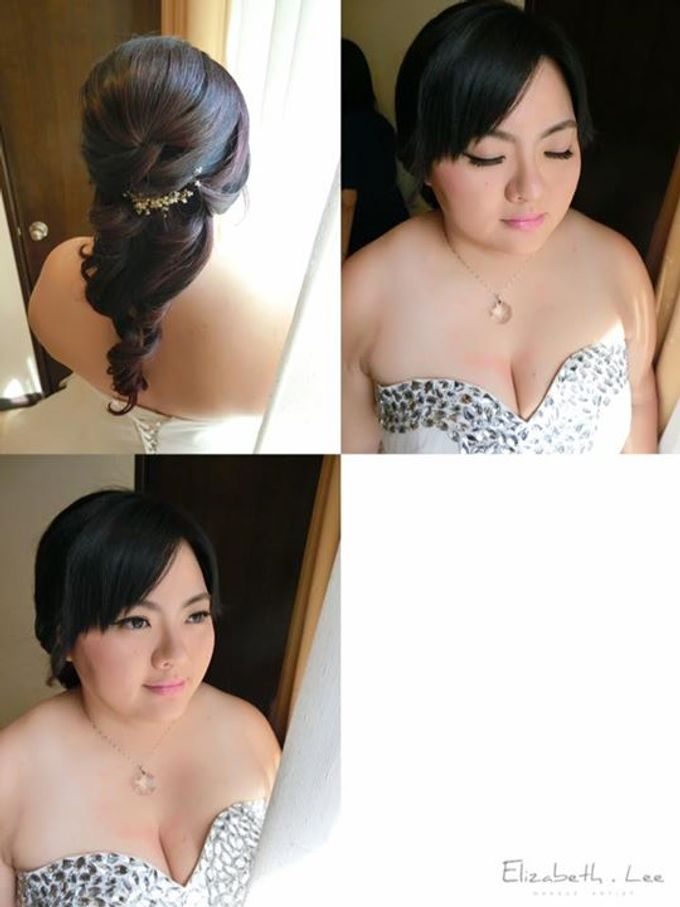 Wedding Day Bride Makeup Service by Elizabeth Lee Makeup Artist - 036