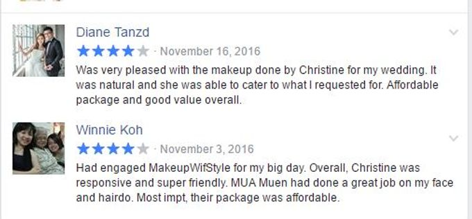 Reviews from Clients by Makeupwifstyle - 006