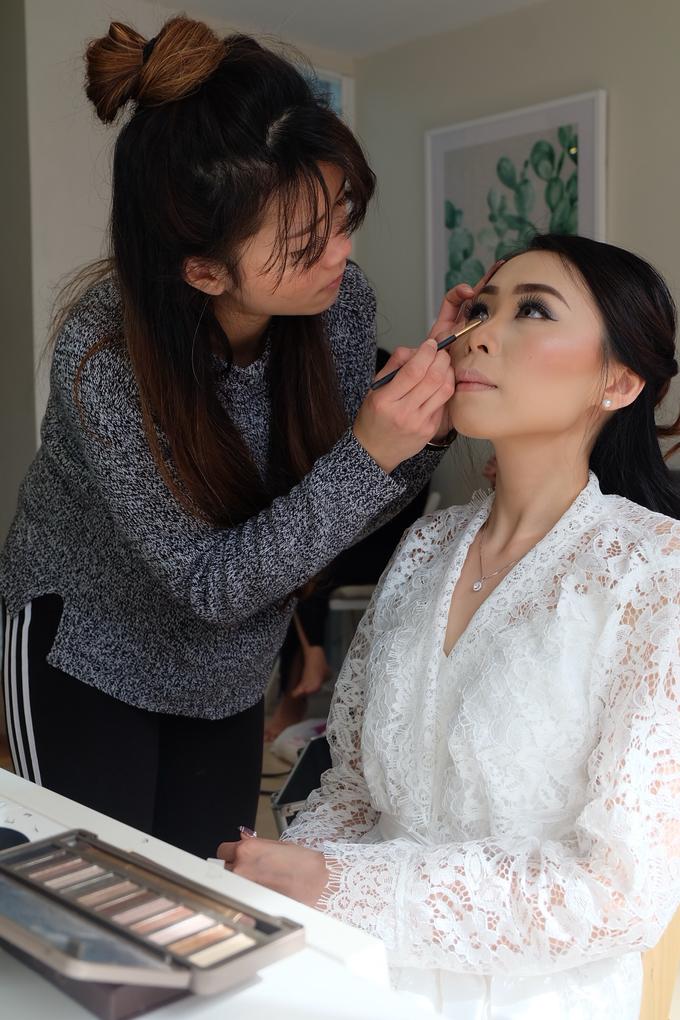 The Wedding of Juli & Partner by Felicaang Makeup Artist - 002