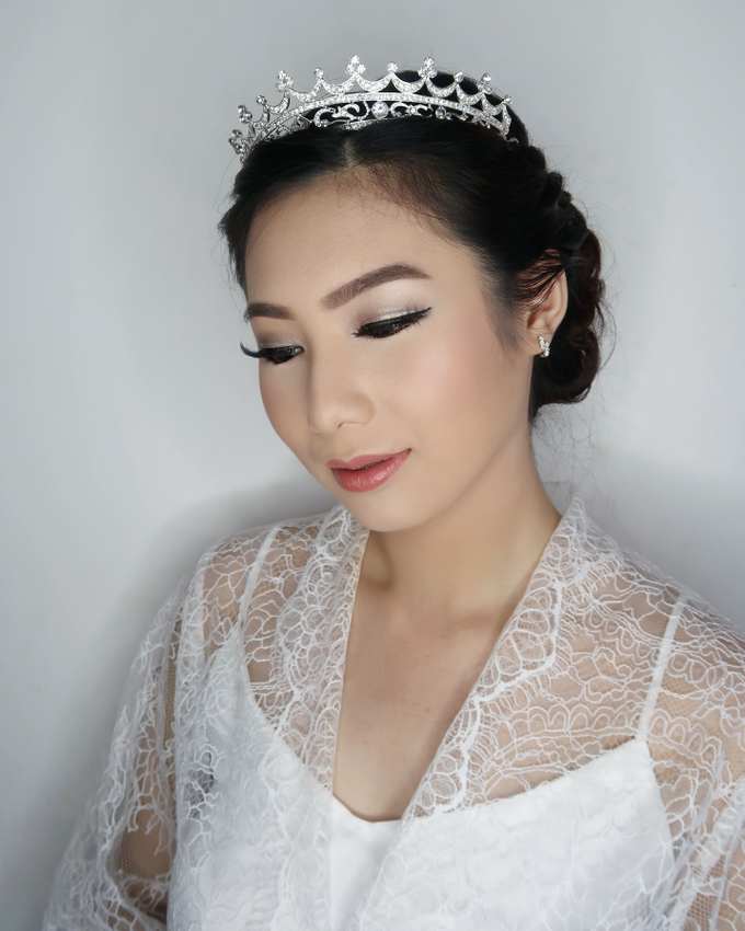 Bride of the day (Mega Silvana) by Felicaang Makeup Artist - 005