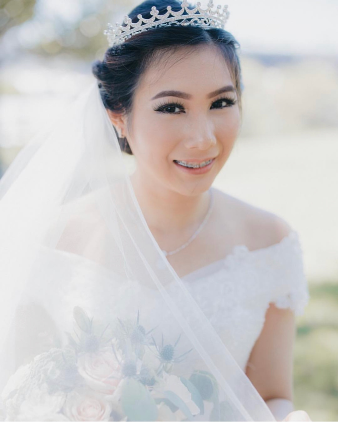 Bride of the day (Mega Silvana) by Felicaang Makeup Artist - 001